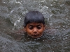 Swimming in the rain, Ambubachi Mela, Kamakhya Mandir, Guwahati