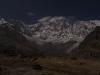 Moon lit Annapurna I