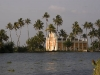 Church, backwaters near Alleppey.