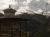 Annapurna II near Ghyanu Annapurna circuit trek.
