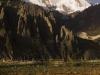 Gangapurna from Manang Annapurna circuit trek.