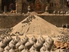 Drying pots, Potter's Square, Bhaktapur.