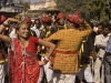 Dancing during the parade in Bundi.