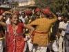 Dancing during the parade in Bundi.