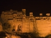 City palace at night,  Bundi.