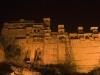 City palace at night,  Bundi.