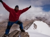 Me at the summit of 6622 m (21,725 ft) Chhamser Kangri