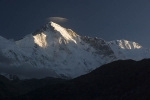 Cho Oyu 6th highest mountain in the world (8201m/26,906 ft) from Gokyo.
