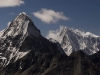 Kangchung west peak, from 5553 m/18,214 ft summit of Ngozumpa-tse known as Knobby View, Gokyo Valley.