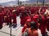 Monks at the Dalai Lama's teachings in Leh