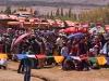 Crowds at the Dalai Lama's teachings in Leh