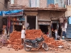 Widening Main Bazaar, Paharganj, before the Common Wealth Games