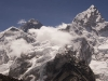 Mt. Everest (center) and Nuptse (right) from Kala Pattar.