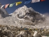 Everest Base Camp and the Khumbu icefall, the treacherous start to the Everest climb.
