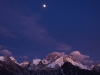 Everest at dusk from Gokyo Ri