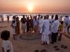 Sand lingam for Shivaratri, Gokarna