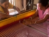 Cottage industries program teaching weaving, Guwahati