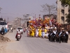 Procession bringing the icon from Shri Govindjee Temple to Bijoy Govinda Temple, Halangkar, the last day of Yaoshang, Imphal