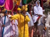 Procession bringing the icon from Shri Govindjee Temple to Bijoy Govinda Temple, Halangkar, the last day of Yaoshang, Imphal