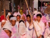 Procession carrying Krishna idol back to the Bejoy Govinda Temple on Halangkar, the last day of Yaoshang, Imphal
