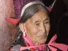 Traditionally dressed Ladakhi woman, Hemis Festival.