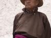 Ladakhi man watching Cham dance, Hemis Festival.