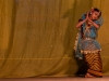 Traditional Meitei dance during a cultural program on the first night of Yaoshan (Holi), Imphal