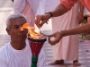 Lighting the torch at Sri Govindaji Temple during Yaoshang, Imphal