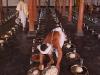 Temple meal at Shri Shri Narsinga Mandir, Imphal