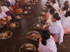 Temple meal at Shri Shri Narsinga Mandir, Imphal
