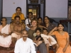 Me and the family that fed me after the Theyyam, Kannur District.