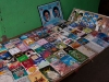 Religious Books outside a mosque in Kargil