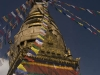"Swavambhunath Stupa, also known as ""the Monkey Temple,"" Kathmandu."