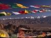 View of Stok Range from Namgyal Tsemo Gompa, Leh
