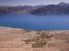 Spangmik and Pangong Lake from above