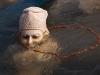 Statue in the Ganga, Haridwar