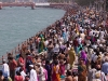 Bathing Ghats, on the auspicious bathing day.