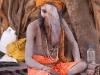 Naga Sadhu with tumor, Kumbh Mela, Haridwar