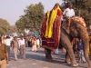 A  Procession at the Kumb Mela on 3/12/2010, Haridwar
