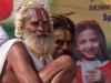 Sadhus heading to bath on Somvati Amavasya, Kumbh Mela, Haridwar