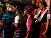 Women of Langtang dancing in Syabru Besi