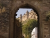 Gate entering the fort, Gwalior.