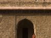 Little girl posing near Darya Khan's tomb, Mandu.