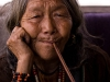 Old woman with a pipe, Mechuka