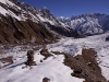 View from Nanda Devi East Base Camp