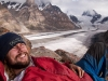 Me at my camp above Parkachik Glacier
