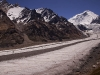 View of Nun & Parkachik Glacier from my camp