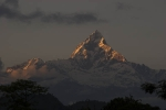 Fishtail Mountain from Pokhara.