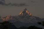 Fishtail Mountain from Pokhara.