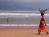 Bringing in the catch at the beach in Puri